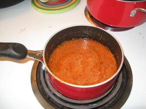 Sauce in Progress