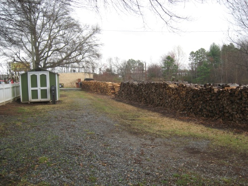 The Woodpile -- That's a lot of wood!